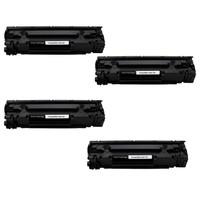 Neon Hp Laserjet Pro P1566 Toner 4'lü Ekonomik Paket Muadil Yazıcı Kartuş