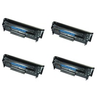 Neon HpLaserjet1012Toner 4'lü Ekonomik Paket Muadil Yazıcı Kartuş