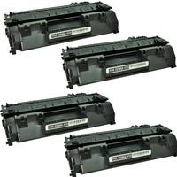 Neon Hp 80A Cf280A Toner 4'lü Ekonomik Paket Muadil Yazıcı Kartuş