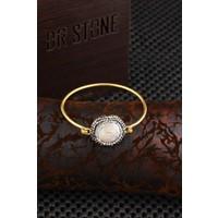 Dr Stone Doğaltaş -Kadın İnci Bileklik 20Ar497
