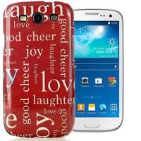 CoverZone Samsung Galaxy S3 Kılıf Resimli Arka Kapak No: 19