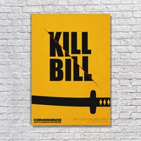 Albitablo Poster Love Kill Bill 1 Kanvas Tablo