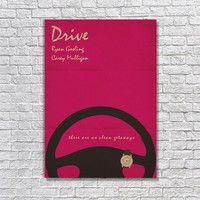 Albitablo Poster Love Drive 2 Kanvas Tablo