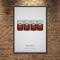 Albitablo Poster Love Seven Gluttony Kanvas Tablo