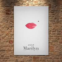 Albitablo Poster Love My Week With Marilyn Kanvas Tablo