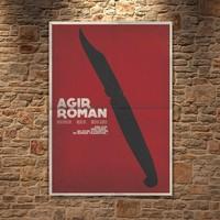 Albitablo Poster Love Ağır Roman Kanvas Tablo
