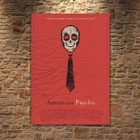 Albitablo Poster Love American Psycho Kanvas Tablo