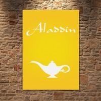 Albitablo Poster Love Aladdin Kanvas Tablo