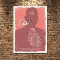 Albitablo Poster Forest gump Kanvas Tablo