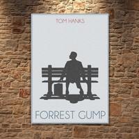 Albitablo Poster Forest Gump2 Kanvas Tablo