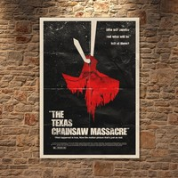 Albitablo Poster Love The Te x as Chainsaw Massacre Kanvas Tablo