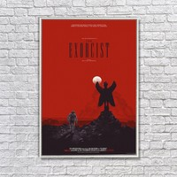 Albitablo Poster The E x orcist Kanvas Tablo