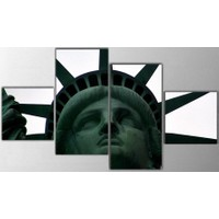 Tictac Design 4 Parça Kanvas Tablo - Özgürlük