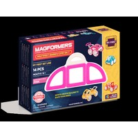 Magformers My First Buggy Car Set Pink 14P
