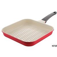 NEVA N725 Sweet Ceramica Kırmızı Grill Tava 28 Cm