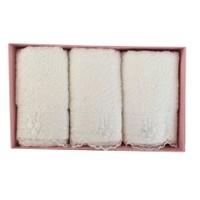 Cotton Box Gipürlü Mutfak Havlusu - Krem