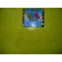 Nova Color Simli Eva 2Mm 50*70Cm Sarı