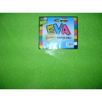 Nova Color Simli Yapışkanlı Eva 2Mm 50*70Cm A.Yeşil