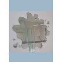 M3 Decorium Çamur Dekoratif Ayna