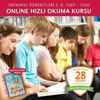 Online Hızlı Okuma Kursu (TEOG - Ortaokul Öğrencileri Grubu )