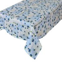 Aliz Masa Örtüsü Mavi Nese - 140x140 cm
