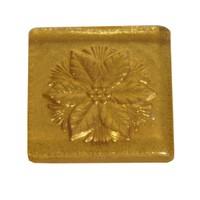 Atadan 2 li Altın Simli Çiçek Dekoratif Banyo-Mutfak Gider Süsü