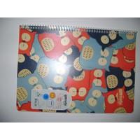 My Note A4 60Yp Kareli Desenli Pp Kapak