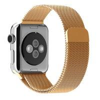 Alaca Apple Watch 42Mm Çelik Örme Mıknatıslı Kordon