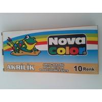 Nova Color Akrilik Boya Tüp 7Grx10 Renk