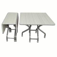 Beyaz Katlanır Kırma Katlanabilir Masa