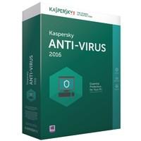Kaspersky Antivirüs 2016 1 Kullanıcı 1 Yıl