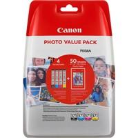 Canon INK CLI-571 BK/C/M/Y Photo Value Kartuş