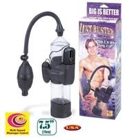 Orijinal Lust Buster Titreşimli Penis Pompası