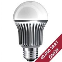 Hizmark 6.9 Watt E27 Duylu LED Ampul Sarı Işık (Sıcak Beyaz)