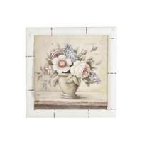 Artmosfer Dekoratif Ahşap Tablo Beyaz Çiçekler-4