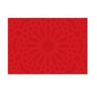 Cushion Design 4 lü Ottoman Kırmızı Amerikan Servis