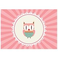 Cushion Design 4 lü Tiny Owl Amerikan Servis