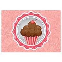 Cushion Design Cupcake Amerikan Servis- Somon