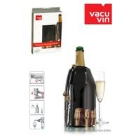 Vacu Vin Vacu Şampanya Kapağı Desenli Şampanya Soğutucu