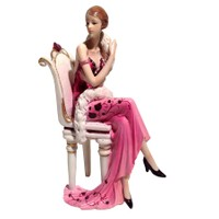 N'crea Home Pembe Elbiseli Bayan Biblo