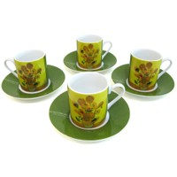 LunArt V.Gogh Kahve Fin.Set 4 lü