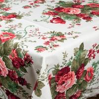 Beauty-Crafts Masa Örtüsü Çiçekli 160x160 cm