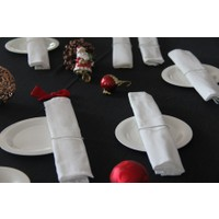 Yeni Yün Christoff Masa Örtüsü,Peçete,Peçetelik Set-Beti Pearl - 260x150 cm