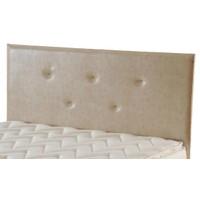 Zinde Yatak Manolya Düz Deri Yatak Başı - 150