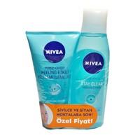 Nıvea Pure Effect Stay Clear Jel+Tonik Hediyeli Set
