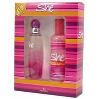 She Fun Edt 50 Ml Kadın Parfüm + 150 Ml Kadın Deodorant Set