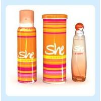 She Happy Edt 50 Ml Kadın Parfüm + 150 Ml Kadın Deodorant Set