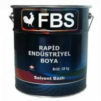 Fbs Rapid Endüstriyel Boya Mat Siyah 3 Kg