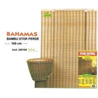Sıcatec 208100 Bahama Bambu Stor Perde 100 Cm