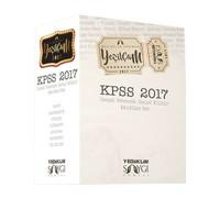 Yediiklim Yayınları 2017 KPSS Genel Kültür Genel Yetenek Konu Anlatımlı Modüler Set